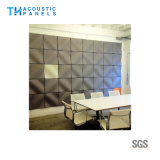 Ecoの友好的なポリエステル線維の内部の装飾的な3D音響の壁パネル