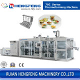 Plastikkappen und Tellersegmente automatische Thermoforming Maschine