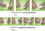 Turbine Dentaire Dental Handpiece jetables pour une clinique dentaire