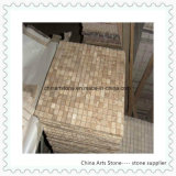 China-graue Marmormosaik-Fliese