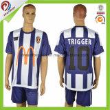 عادة جديدة تصميم ناد تصميد [ثي] نوعية كرة قدم قميص صانع كرة قدم جرسيّ