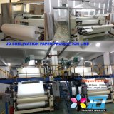 papel altamente pegajoso do Sublimation da tintura 100GSM com rolo x100meters do tamanho 64 do ''