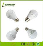 세륨 RoHS 5W E26 E27 B22 7W LED 전구 세라믹 주거