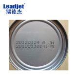Pequeñas impresoras de inyección de tinta sin contacto industriales del carácter que marcan en las latas de aluminio