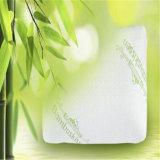 Desmenuzado de espuma de memoria extraíble con cubierta de fibra de bambú almohada -cinco tamaños