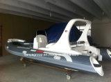 Liya 6,2 M$ bateaux gonflables nervure gonflable Bateau avec moteur hors-bord