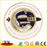 Broche métallique pour cadeaux promotionnels badges personnalisés