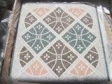 Reticolo di mosaico di marmo sulla maglia per la pavimentazione