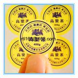 Regalo promocional la impresión de etiqueta Etiqueta Adhesiva de PVC adhesivo