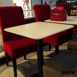 Gaststätte-Möbel-künstlicher runder MarmorspitzenSteinspeisetisch