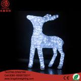 LED 3D 220Vのアクリルのクリスマスのサンタクロースの防水クリスマスの装飾のモチーフライト