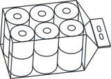 Máquina de empaquetado y de aislamiento del pequeño del papel higiénico de cuarto de baño rodillo del tejido