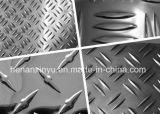 パターンチェック模様のアルミニウム版の変化