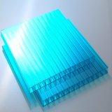 Hoja hueco durable de la depresión del policarbonato de Lexan para el material para techos del estadio