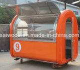 Carro móvil de alimentos cocina comida tráiler