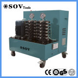 4 Hydraulik-Wagenheber synchrones anhebendes PLC-Kontrollsystem
