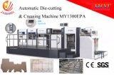 Máquina que corta con tintas del manual automático de la eficacia alta y que arruga que introduce Stirpping