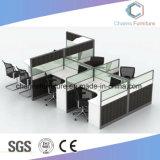 2명의 사람 (CAS-W1859)를 위한 정면으로 형식 디자인 오피스 테이블 워크 스테이션