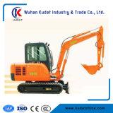 La excavadora hidráulica Crawel 4,5 T