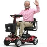 Vier Räder verweisen die weiblichen Modelle, die elektrischen Roller der Mobilitäts-1000W für älteres Dreirad falten