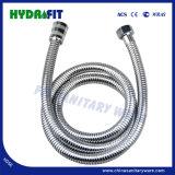 De strakke Slang van de Douche van het Roestvrij staal met Binnenband EPDM (HY6012)