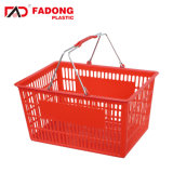 Uitstekende Plastic het Winkelen van de Kwaliteit Mand voor Grote Detailhandel
