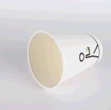 Taza de papel caliente con la tapa