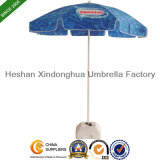 48-дюймовый пляжный зонтик с адаптированной логотипы для рекламы (BU-0048W)