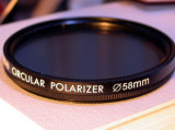Filtre en verre de polariseur circulaire (CPL37~82)