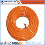 Tampa de PVC de qualidade superior de reforço de fibra de mangueira de gás