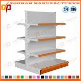Scaffalatura di parete d'acciaio personalizzata Manufactured dell'angolo del negozio del supermercato (Zhs596)
