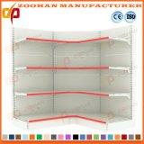 Aménagement d'étalage de gondole de mémoire de mémoire de supermarché d'étagères de mur en métal (Zhs420)