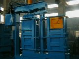 Double Chambre vêtements machine hydraulique de la ramasseuse-presse (Y82S-63FJ)