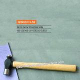 Harter hölzerner Kugel Pein Hammer des Griff-H-32