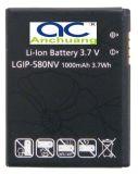 Batterie de téléphone portable pour l'atterrisseur LGIP-580NV d'atterrisseur