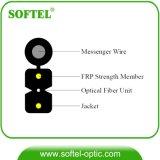 Soltar o cabo de fibra óptica de FTTH com Sefl-Suporting