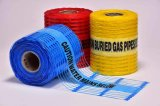 探索可能な/Non-Detectable地下安全警告の網テープ