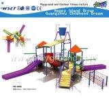 O Parque Aquático profissional escorrega de equipamento de fábrica (HD_6502)
