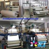 120gsm a impressão por sublimação de tinta de alta aderência de rolo de papel para impressão de transferência de malha