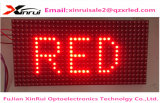 2017 Hot Selling Melhor Preço Alta qualidade P10 Single Color Display Screen Enengy Saving LED Video Wall