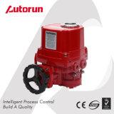 Rojo de encendido / apagado a prueba de explosiones Actuador eléctrico