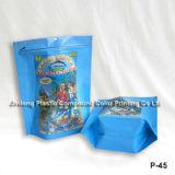 인쇄된 색깔 애완 동물 먹이 포장 부대