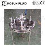 En acier inoxydable de support de filtre à membrane sanitaires