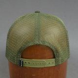 Chapéu Snapback dianteiro de esponja plana de algodão / malha de 5 painéis