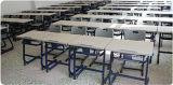 학교 나무로 되는 금속 학생 책상 및 의자