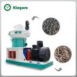 販売のための機械を作るカシ木餌