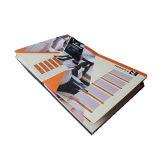 Книга книга в твердой обложке при мычка ткани прыгая штемпелюя обслуживание печатание (jhy-342)