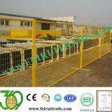 O Zoneamento temporária para proteger o local de construção