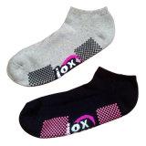 Männer Women Cotton Anti-Slip Sports Socks für Trampoline (as-08)