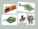 Papel de DIY que modela los juguetes (KT001)
